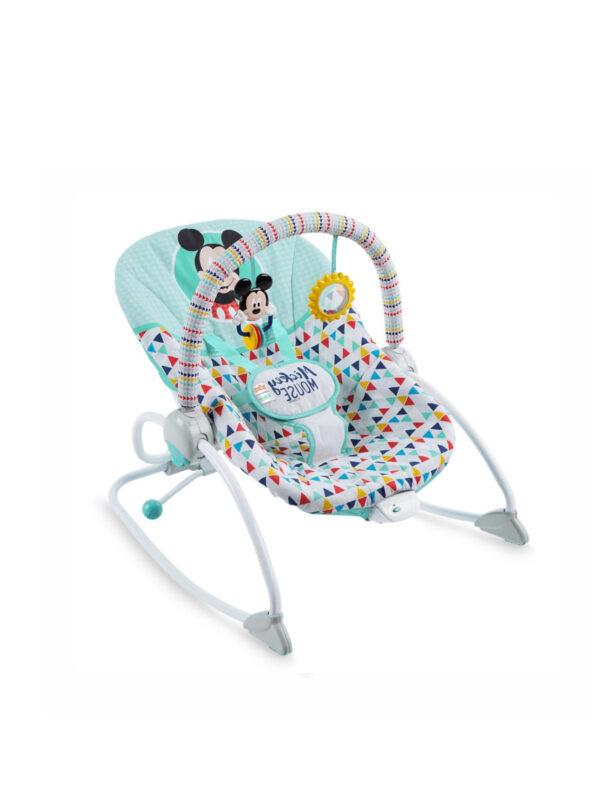 Sdraietta Mickey Mouse Happy Triangles - Disney baby - Sdraiette e altalene