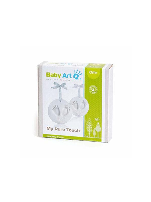 KIt Pasta Da Modellare per Impronte My Pure Touch  shyny vibes c/glitter - BABY ART - Accessori cameretta