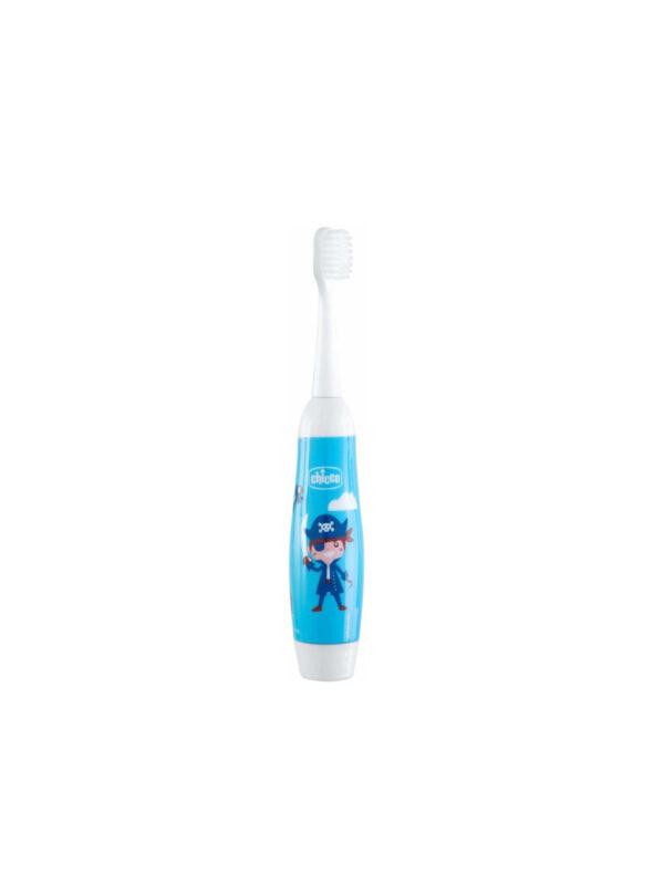 Spazzolino elettrico 36m+ Azzurro - CHICCO - Cura e cosmesi bambino
