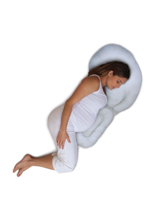 Cuscino gravidanza Total Body - BOPPY - Cuscini e accessori lettini