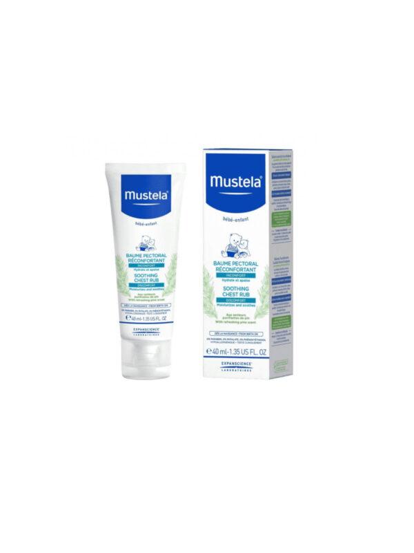 Mustela Crema massaggio balsamica s.o.s.  40 ml 0m+ - MUSTELA - Cura e cosmesi bambino