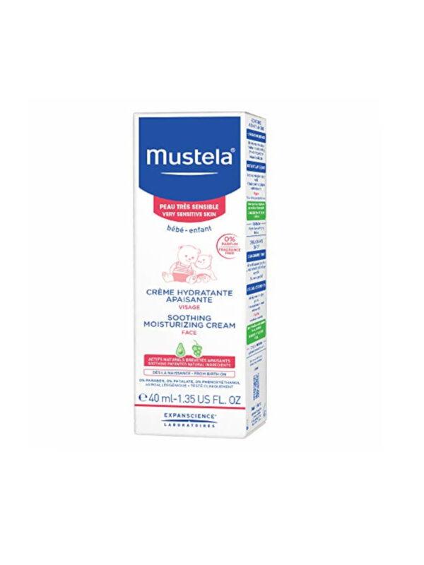 Mustela Crema Idratante Lenitiva viso 40 ml - MUSTELA - Cura e cosmesi bambino