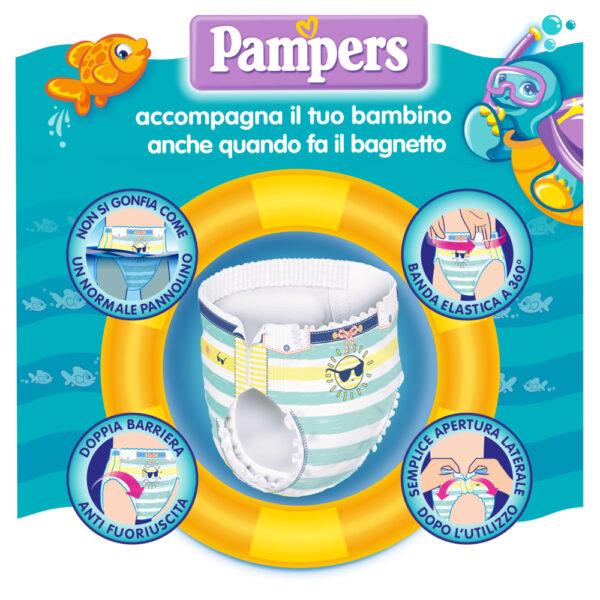 Pampers il Costumino Taglia 4 (8-15 kg) - 11 pz - Pampers