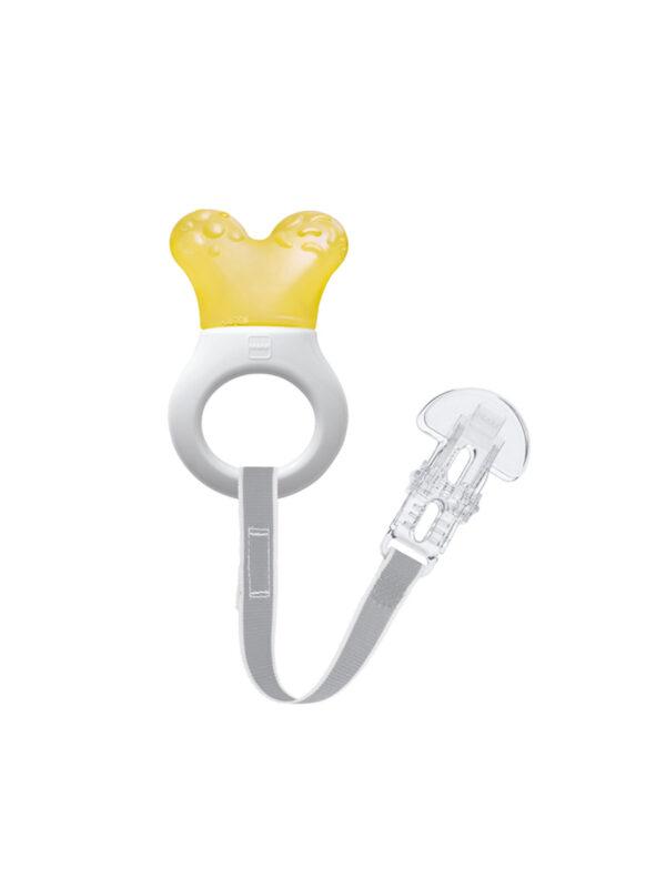 Dentaruolo rinfrescante Mini Cooler & Clip Neutro - MAM - Cura e cosmesi