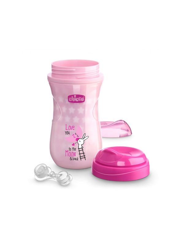 Tazza Glowing Rosa - CHICCO - Piatti e Set Pappa