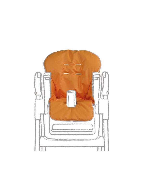 Copri seggiolone in pcv Arancione - GIORDANI - Accessori Seggioloni