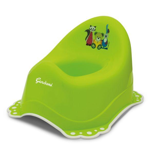 Vasino bagno con antiscivolo verde - GIORDANI - Vasini e riduttori