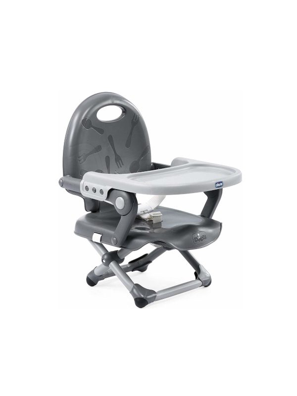 Rialzo sedia Pocket Snack Dark Grey - CHICCO - Seggioloni e Alzasedia