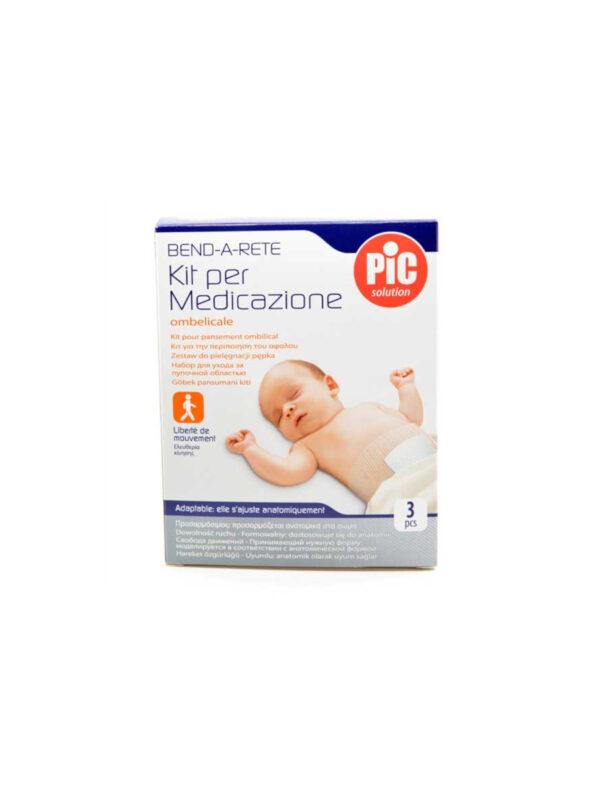 Benda rete kit ombelicale con compresse  in tessuto - PIC - Cura e cosmesi bambino