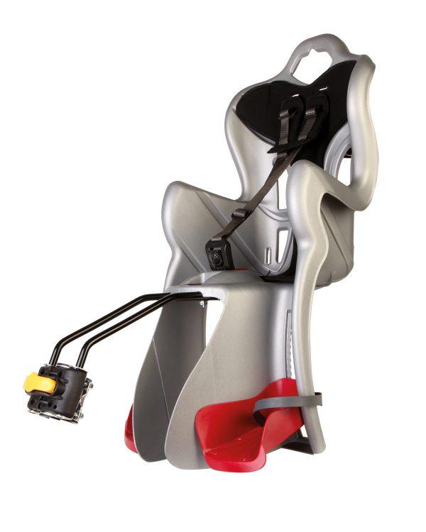 Seggiolino bici posteriore B-ONE Silver - BELLELLI - Seggiolini bicicletta e accessori