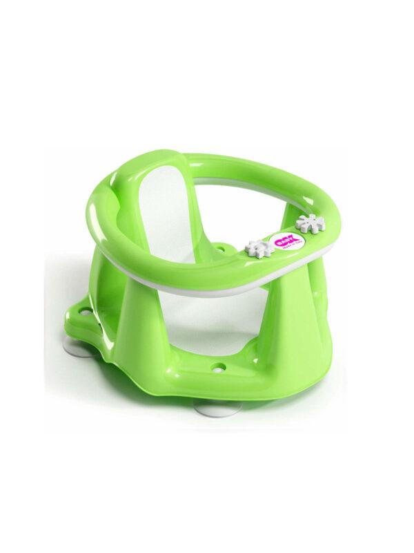 Supporto bagno Flipper Evolution verde - OK BABY - Accessori Cambio