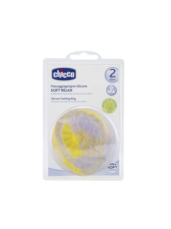 Massaggiagengive Soft Relax Silicone 2M+ - 2 pz - CHICCO - Cura e cosmesi bambino