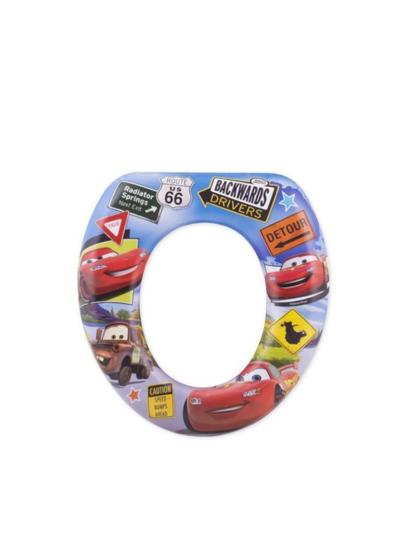 Riduttore WC Morbido Disney Cars - DISNEY - Vasini e riduttori
