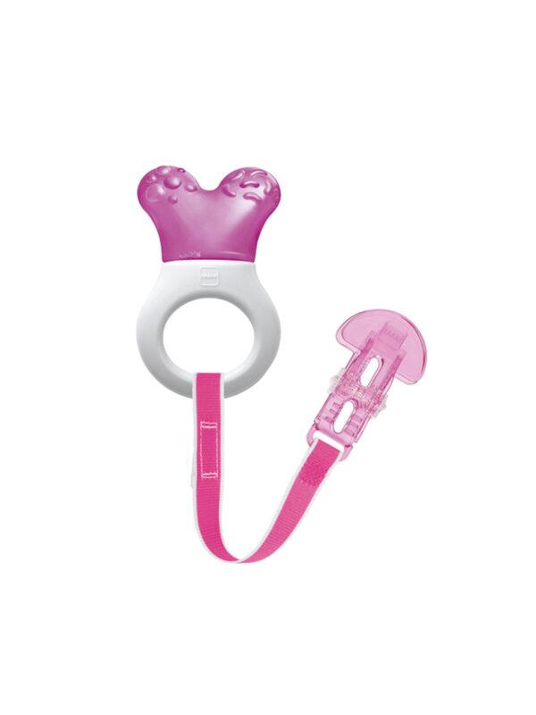 Dentaruolo rinfrescante Mini Cooler & Clip Bimba - MAM - Cura e cosmesi