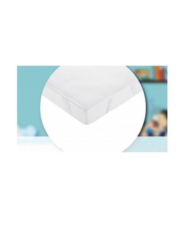 Aircuddle Materasso E Coprimaterasso 3 strati  Per Lettino  bianco 60 x120 - AIRCUDDLE - Culle, materassi e accessori