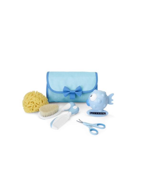 Chicco Set Igiene Azzurro - CHICCO - Cura e cosmesi bambino