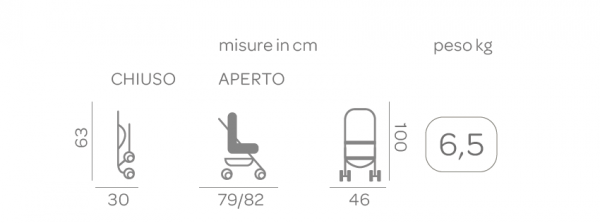 Passeggino Boarding Optical - FOPPAPEDRETTI - Foppapedretti