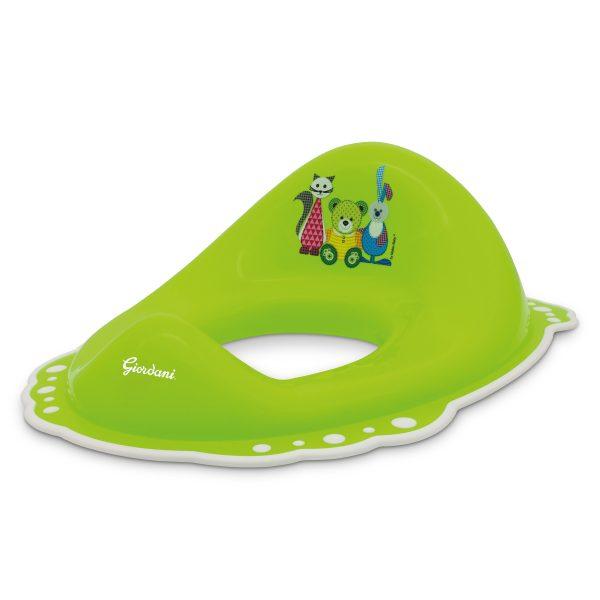 Riduttore bagno con antiscivolo verde - GIORDANI - Vasini e riduttori