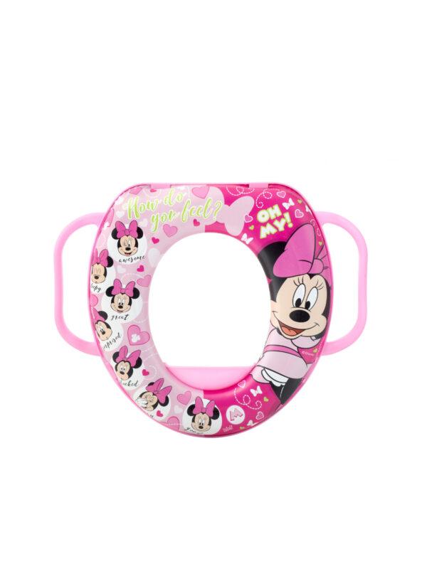Riduttore WC con manici Disney Minnie - DISNEY - Vasini e riduttori
