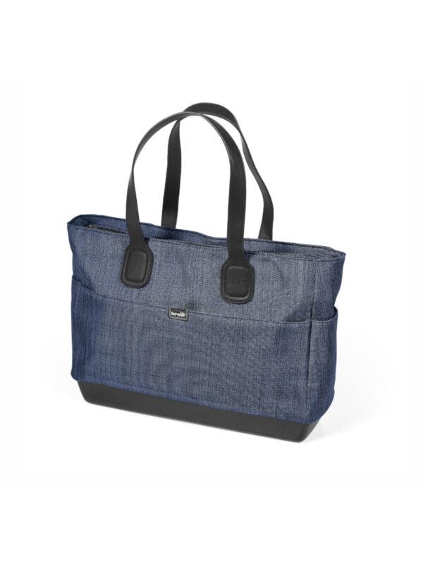 Brevi Borsa Fasciatoio Guscio Bleu Jeans - BREVI - Accessori passeggini