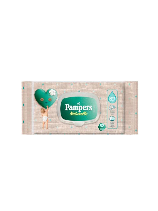 Pampers Naturello Salviettine - Confezione da 52 pz - Pampers - Cura e cosmesi bambino