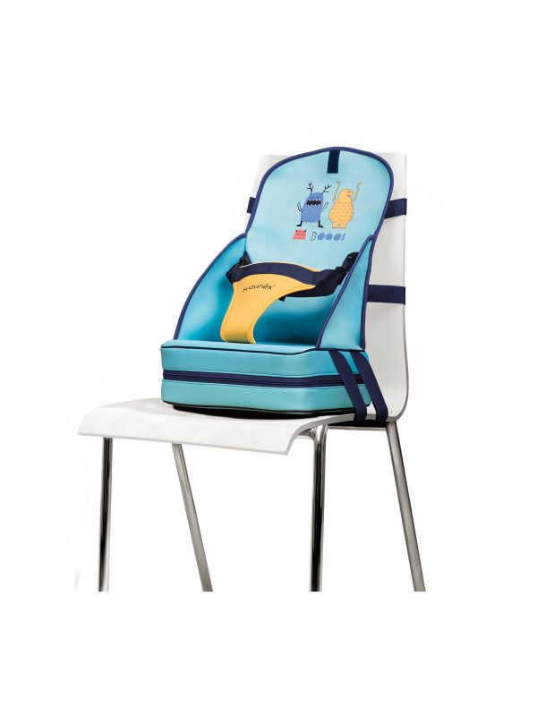 Rialzo sedia Blue BOOO! - QUARANTASETTIMANE - Seggioloni e Alzasedia