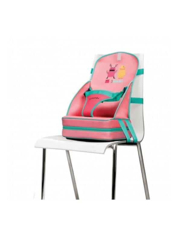 Rialzo sedia Rosa - QUARANTASETTIMANE - Seggioloni e Alzasedia