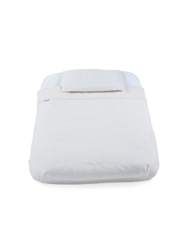 Set culla con piumino 4 pz  Grey Stripes per Next2Me - CHICCO - Culle, materassi e accessori
