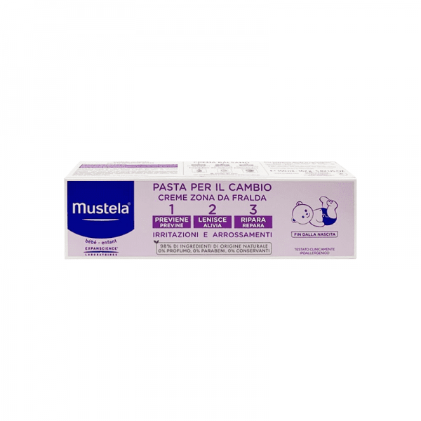 Mustela Pasta Lenitiva per il Cambio tripla azione 150 ml - MUSTELA - Cura e cosmesi bambino
