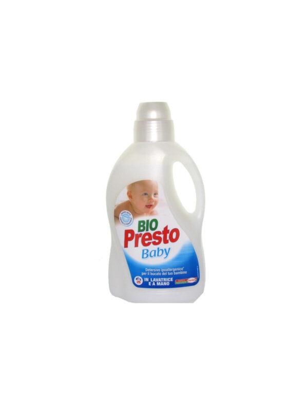 Bio Presto Baby detersivo bucato a mano e lavatrice liquido 1,5 L - BIOPRESTO - Detergenti e creme