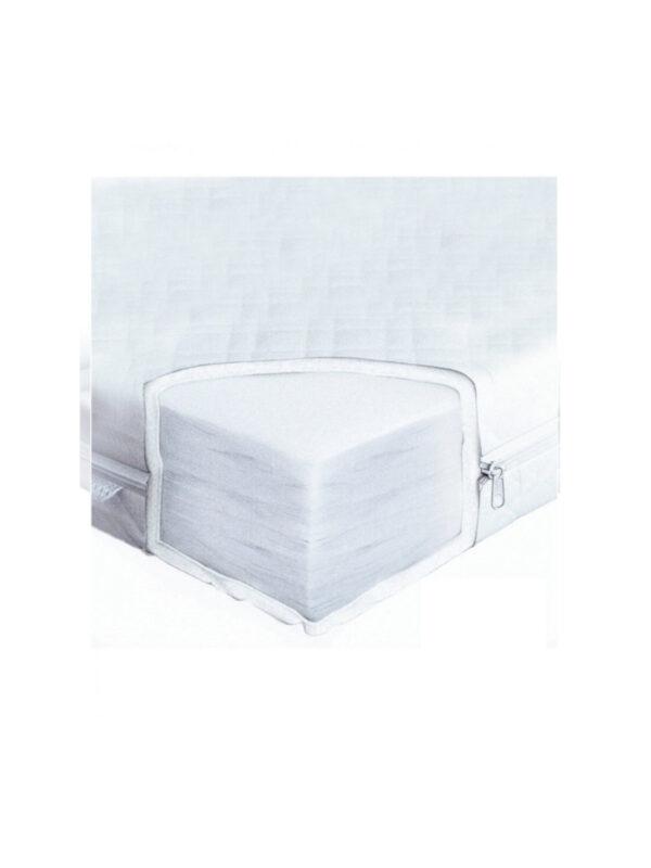 Materasso antiacaro non sfoderabile  62x125x11 - GIORDANI - Culle, materassi e accessori
