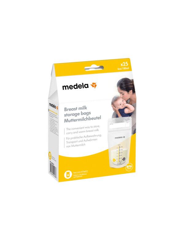 Medela Sacche per la conservazione del latte materno 25x180ml - MEDELA - Accessori Pappa e Allattamento