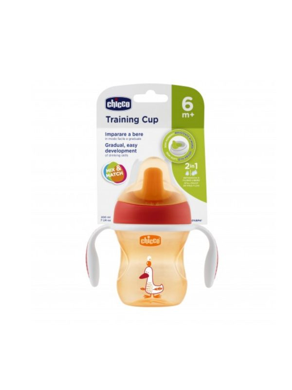 Tazza Training neutra 6 m+ <strong>Colori Assortiti</strong> - CHICCO - Accessori Pappa e Allattamento