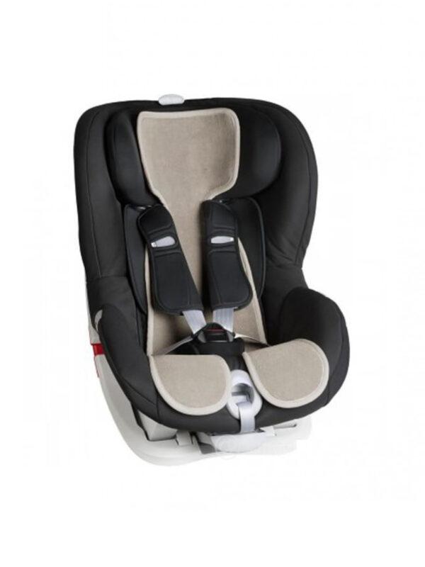 Fodera per seggiolino auto Gruppo 1 Cool Seat  Nocciola - ROSA PRIMA INFANZIA - Accessori Seggiolini Auto