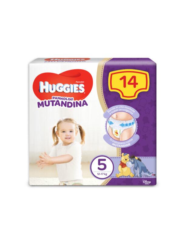 Huggies Pannolino Mutandina Taglia 5 (12-17 kg) - 14 pz - HUGGIES