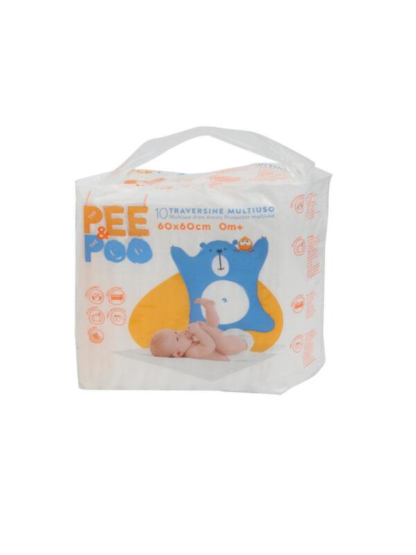 Pee&Poo Traversine 60×60 - PEE & POO - Accessori Cambio
