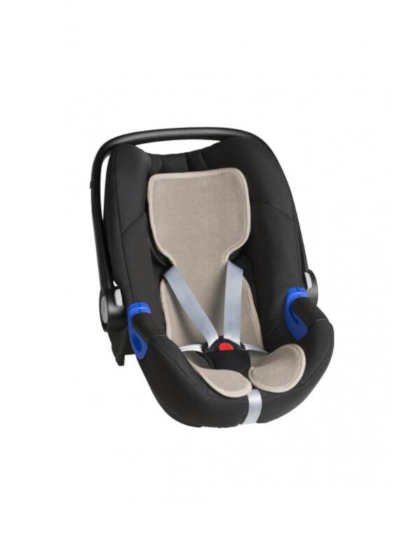 Materassino per Ovetto traspirante Cool Seat nocciola - ROSA PRIMA INFANZIA - Accessori Seggiolini Auto