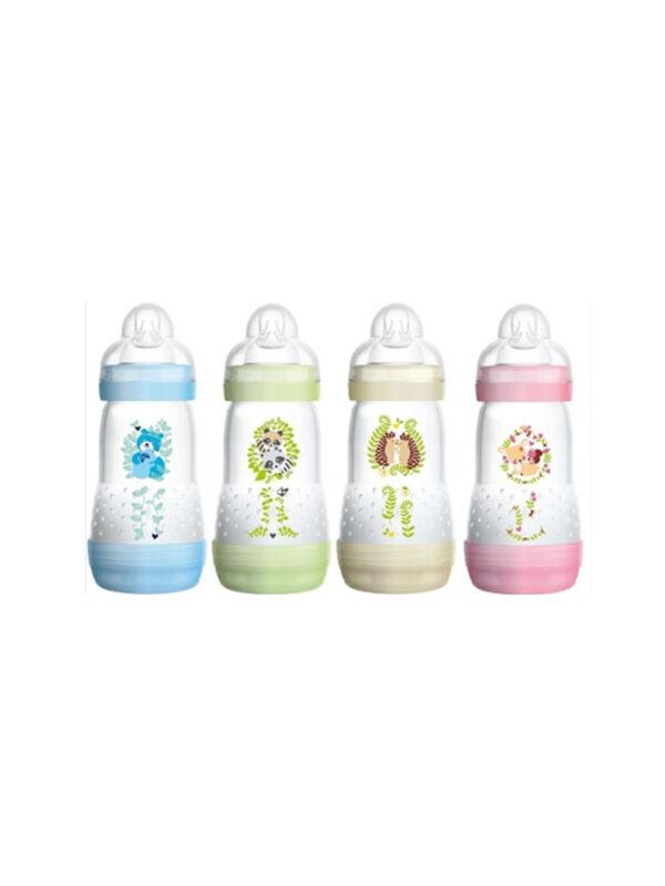 Biberon Easy Start 260 ml confezione doppia <strong>Colori assortiti</strong> - MAM - Biberon e tettarelle