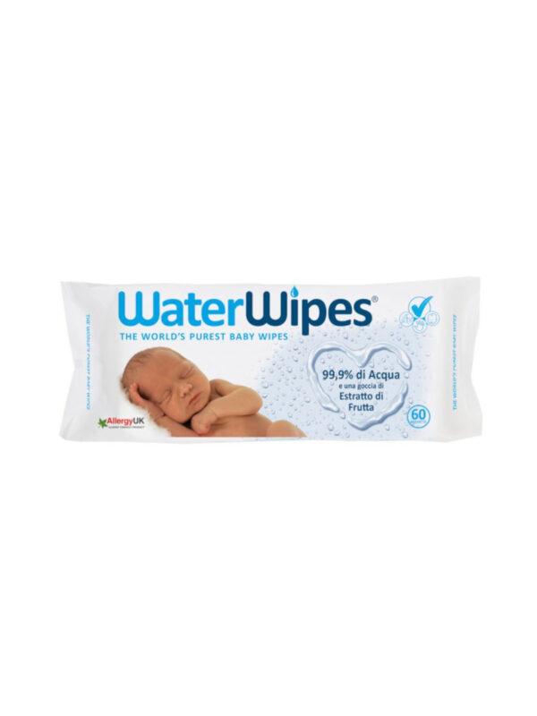 Salviette WaterWipes 60 pz - WaterWipes - Accessori Cambio