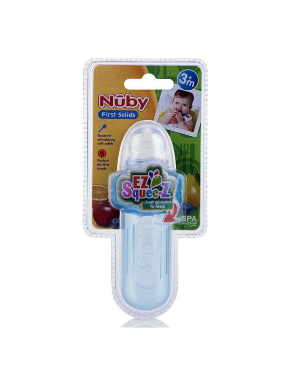 Mini squeeze feeder 40 ml con cappuccio igienico <strong>Colori assortiti</strong> - NUBY - Accessori Pappa e Allattamento