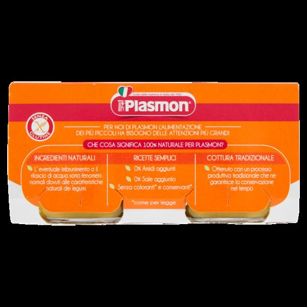 Plasmon - Omogeneizzato  Legumi Verdi - 2x80g - Plasmon - Omogeneizzato verdure