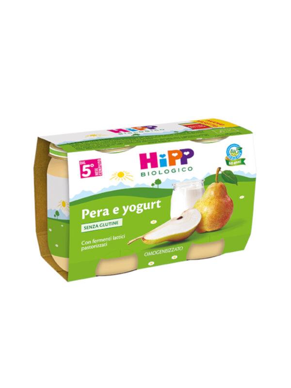 Omogeneizzato Pera e yogurt 2x125g - HiPP - Omogeneizzato frutta