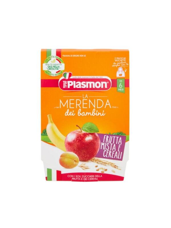 Plasmon - Merende Frutta - Cereali - 2x120g - Plasmon - Yogurt e budini per bambini