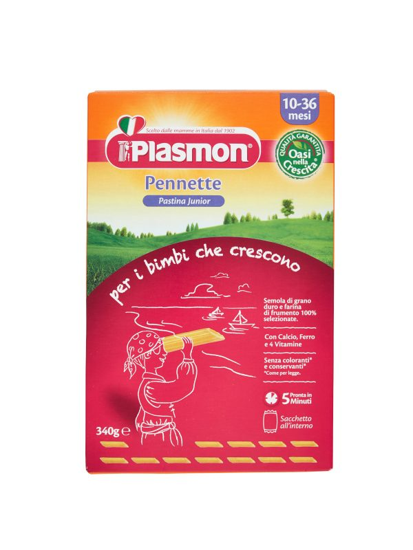 Plasmon - Pastina Pennette - 340g - Plasmon - Pastine per bambini