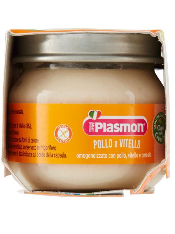 Plasmon - Omogeneizzato Vitello - Pollo - 2x80g - Plasmon