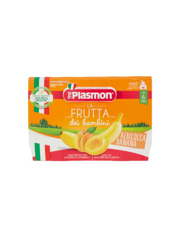 Plasmon - Sapori di Natura albicocca - banana - 4x100g - Plasmon - Omogeneizzato frutta