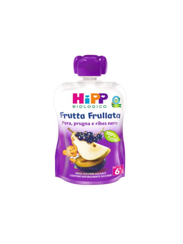 Frutta frullata Pera prugna ribes 90g - HiPP - Merende da bere