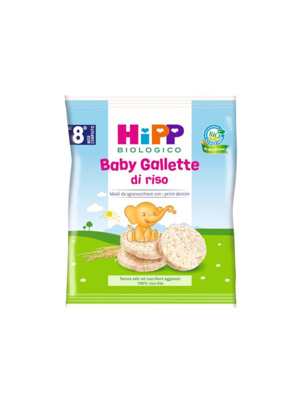 Baby gallette di riso 35g - HiPP - Snack per bambini