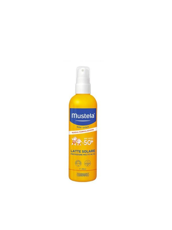 Latte solare spray 50+ 200ml - MUSTELA