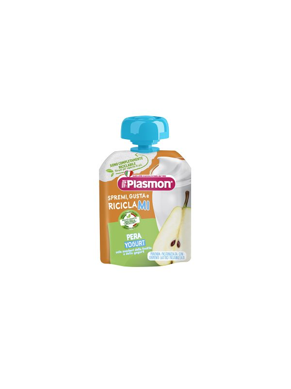 Plasmon - Spremi e Gusta Dessert - Pera Yogurt - 85g - Plasmon - Yogurt e budini per bambini